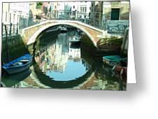 Bridge In Venice Greeting Card