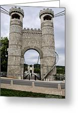 Bridge La Caille - Rhone-alpes Greeting Card