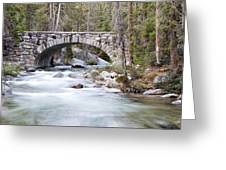Bridge N Creek Greeting Card