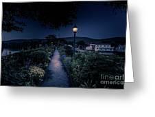 Bridge Of Flowers Greeting Card