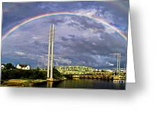 Bridge Of Hope Greeting Card