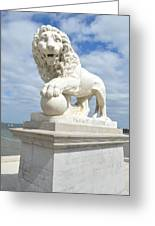 Bridge Of Lions II Greeting Card