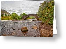 Bridge Of Orchy Argyll Bute Greeting Card