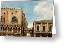 Bridge Of Sighs, Venice Greeting Card