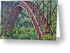 Bridge Of Trees Greeting Card