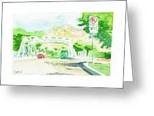 Bridge On Concord St. Greeting Card
