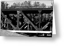 Bridge On The Waterfront Greeting Card