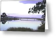 Bridge Over Browns River  Greeting Card