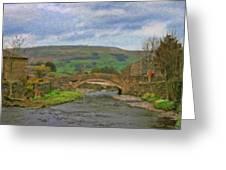 Bridge Over Duerley Beck - P4a16020 Greeting Card