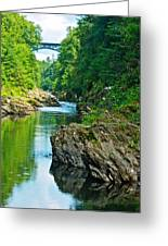 Bridge Over Quechee Gorge-vermont  Greeting Card