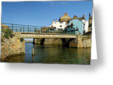 Bridge Over Staithes Beck Greeting Card