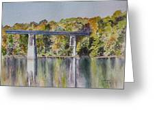 Bridge Over The Cumberland Greeting Card