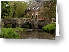 Bridge Over The River Clun Greeting Card