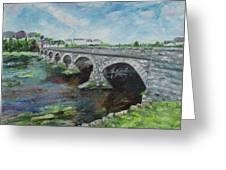 Bridge Over The River Laune, Killorglin Ireland Greeting Card