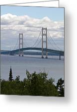 Bridge Over The Water Greeting Card