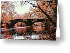 Bridge Over Yellow Breeches Creek Greeting Card