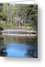 Bridge Reflection Greeting Card