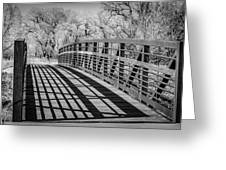Bridge Shadows Greeting Card