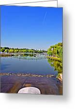 Bridge The Gap. Mirroring Greeting Card