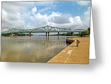 bridge to Belpre, Ohio Greeting Card