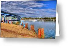 Bridge To Cobb Island Greeting Card