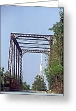 Bridge To God Greeting Card