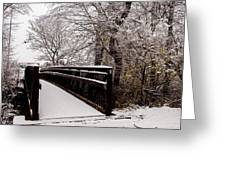 Bridge To Grandma's House Greeting Card
