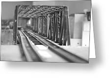 Bridge To Jerry Town Greeting Card