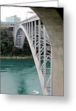 Bridge To New York Greeting Card