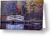 Bridge To Serenity Greeting Card