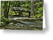 Bridge To Serenity Greeting Card