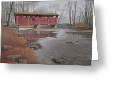 Bridge To Sleepy Hollow Greeting Card