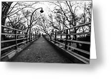 Bridge To The East River Greeting Card