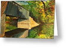 Bridge To Windham, Maine Greeting Card