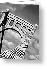 Bridge Top Pittsburgh Pa Greeting Card by Kristen Vota
