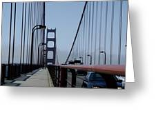 Bridge Walk Greeting Card