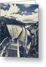 Bridges And Outback Dams Greeting Card