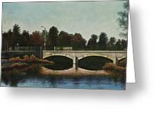 Bridges Of Forest Park Iv Greeting Card