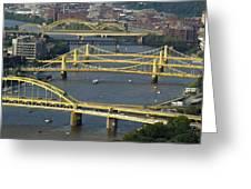 Bridges Of Pittsburgh Greeting Card