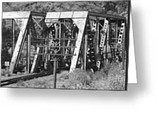 Bridges Of Power Greeting Card
