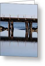 Bridge's Reflection Greeting Card