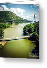 Bridges Through The Valley Greeting Card
