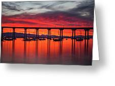 Bridgescape Greeting Card