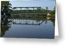 Bridging The Cathance Greeting Card