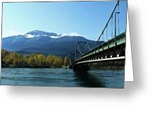 Bridging The Seasons Greeting Card