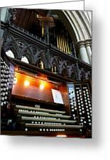 Bridlington Priory Pipe Organ Greeting Card