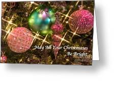 Bright Christmas Card Greeting Card