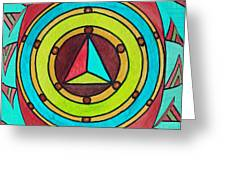 Bright Design Greeting Card
