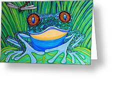 Bright Eyes 2 Greeting Card