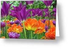 Bright Floral Greeting Card